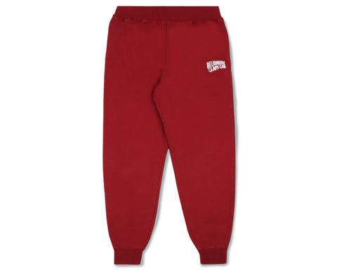 Billionaire Boys Club Classics SMALL ARCH LOGO SWEATPANTS - OVERDYED RED