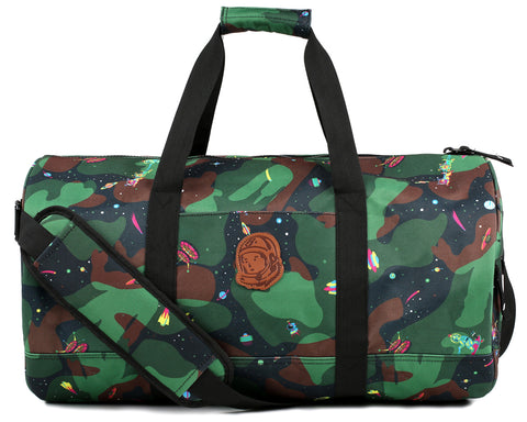 Billionaire Boys Club Pre-Fall '18 SPACE CAMO DUFFLE BAG - BLACK
