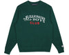 Billionaire Boys Club Spring '19 EMBROIDERED SCRIPT CREWNECK - GREEN