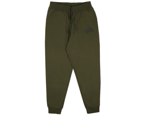 SMALL ARCH LOGO SWEATPANTS - OLIVE