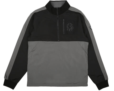 Billionaire Boys Club Pre-Spring '17 SPACE HUNT TRACK TOP - DARK GREY/BLACK