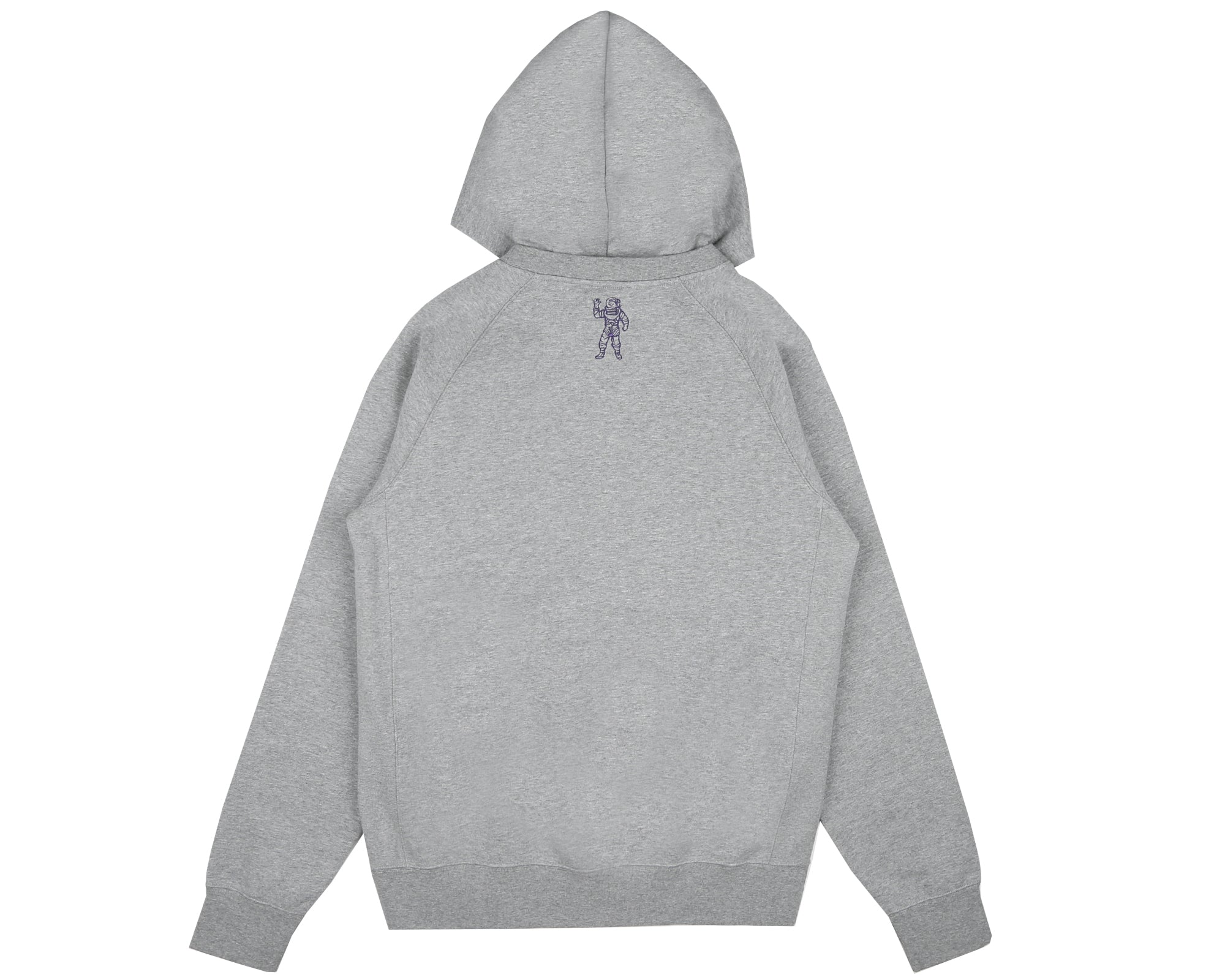 COLLEGE POPOVER HOOD - HEATHER GREY