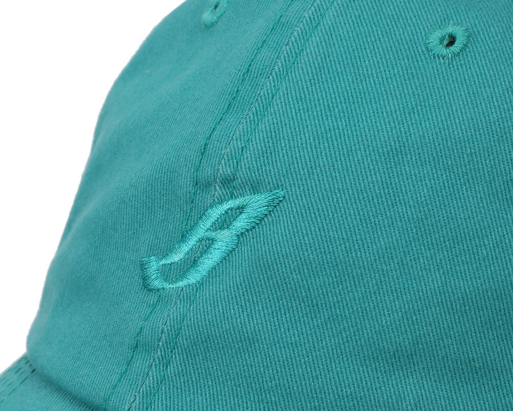 Billionaire Boys Club Pre-Fall '17 FLYING B OVERDYE CURVED VISOR - TEAL