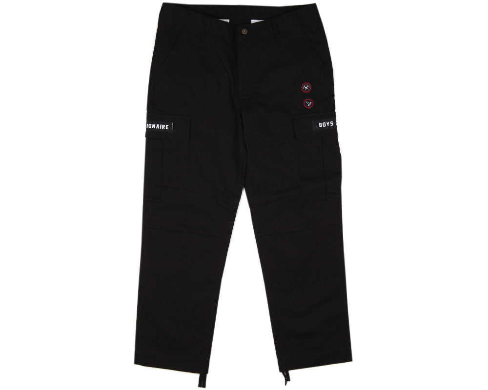 BBCICECREAM CLIMBING CARGO PANTS - BLACK