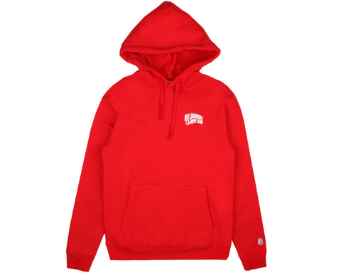 Billionaire Boys Club Fall '16 SMALL ARCH LOGO HOODY - RED