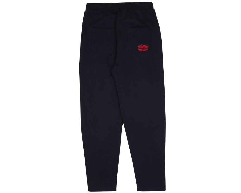 RAYGUN PLEATED SWEATPANT - NAVY