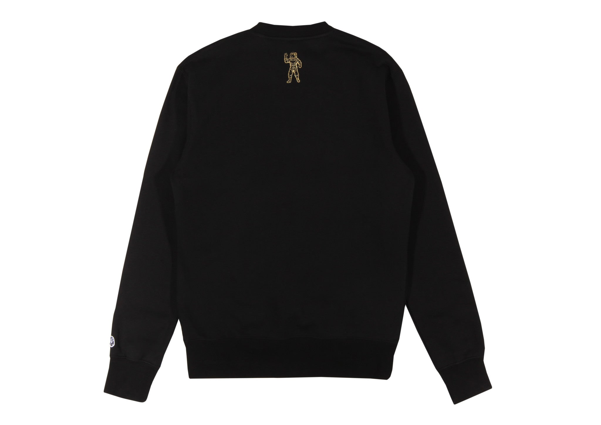Billionaire Boys Club Pre-Spring '17 GLITTER PACK ARCH LOGO CREWNECK - BLACK/GOLD