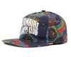 Billionaire Boys Club Fall '18 ARCH LOGO PAISLEY SNAPBACK CAP - BLUE
