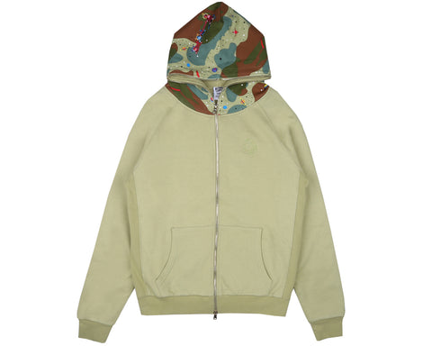Billionaire Boys Club Pre-Spring '18 SPACE CAMO THERMAL HOOD - BEIJE