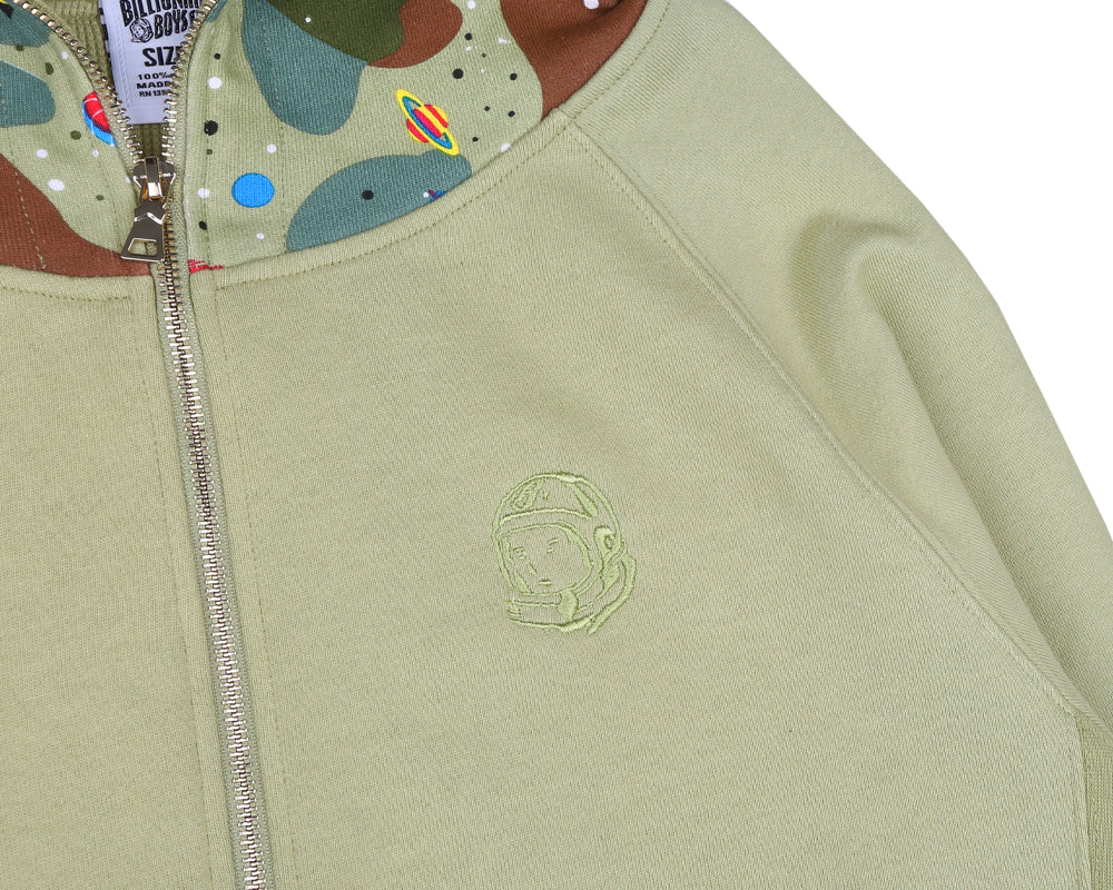 Billionaire Boys Club Pre-Spring '18 SPACE CAMO THERMAL HOOD - BEIGE