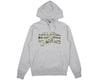 BBCICECREAM CAMO ARCH POP-OVER HOOD - HEATHER GREY