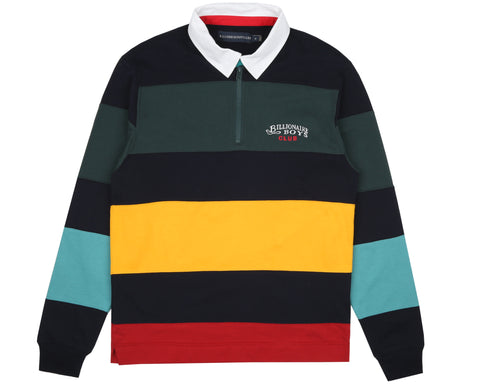 Billionaire Boys Club Pre-Spring '19 CUT & SEW RUGBY SHIRT - MULTI