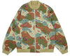 Billionaire Boys Club Pre-Spring '18 SPACE CAMO REVERSIBLE BOMBER - BEIGE/CAMO