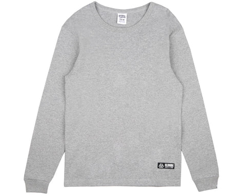 Billionaire Boys Club Fall '17 WAFFLE KNIT L/S T-SHIRT - HEATHER GREY