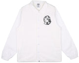 Billionaire Boys Club Pre-Spring '17 CLASSIC LOGO COACH JACKET - WHITE