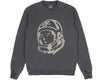 Billionaire Boys Club Pre-Spring '18 DAMAGED CREWNECK SWEATSHIRT - BLACK