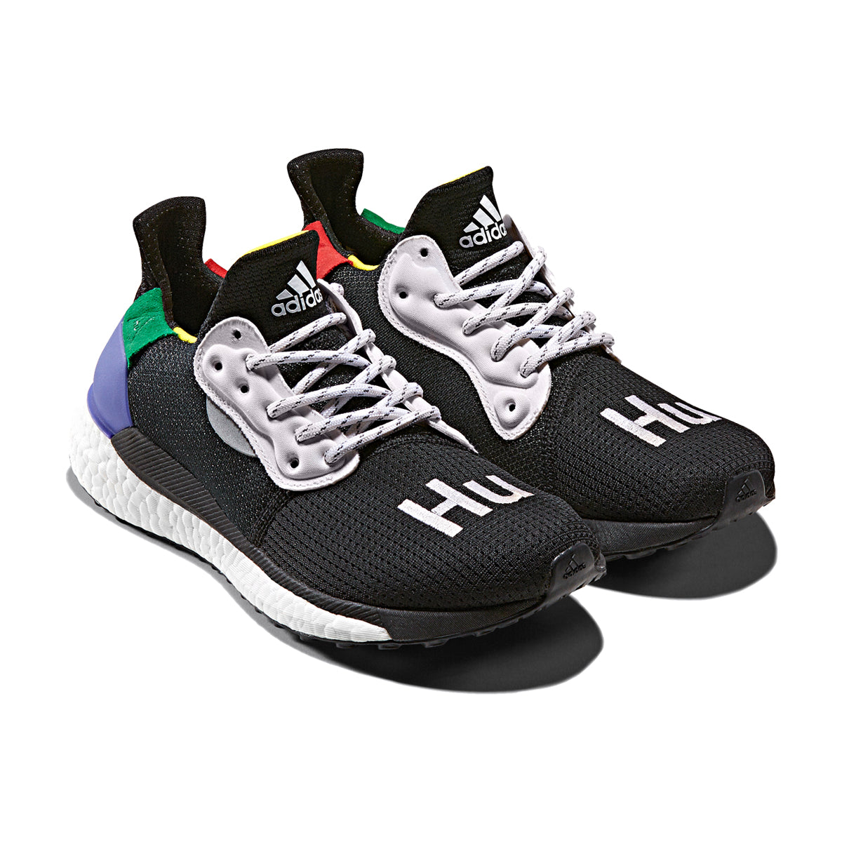 25f1d6fba ADIDAS ORIGINALS   PHARRELL WILLIAMS SOLARHU GLIDE - BLACK ...