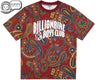Billionaire Boys Club Fall '18 PAISLEY ALL OVER PRINT T-SHIRT - RED