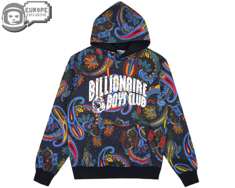 Billionaire Boys Club Fall '18 ALL OVER PRINT POPOVER HOOD - BLUE