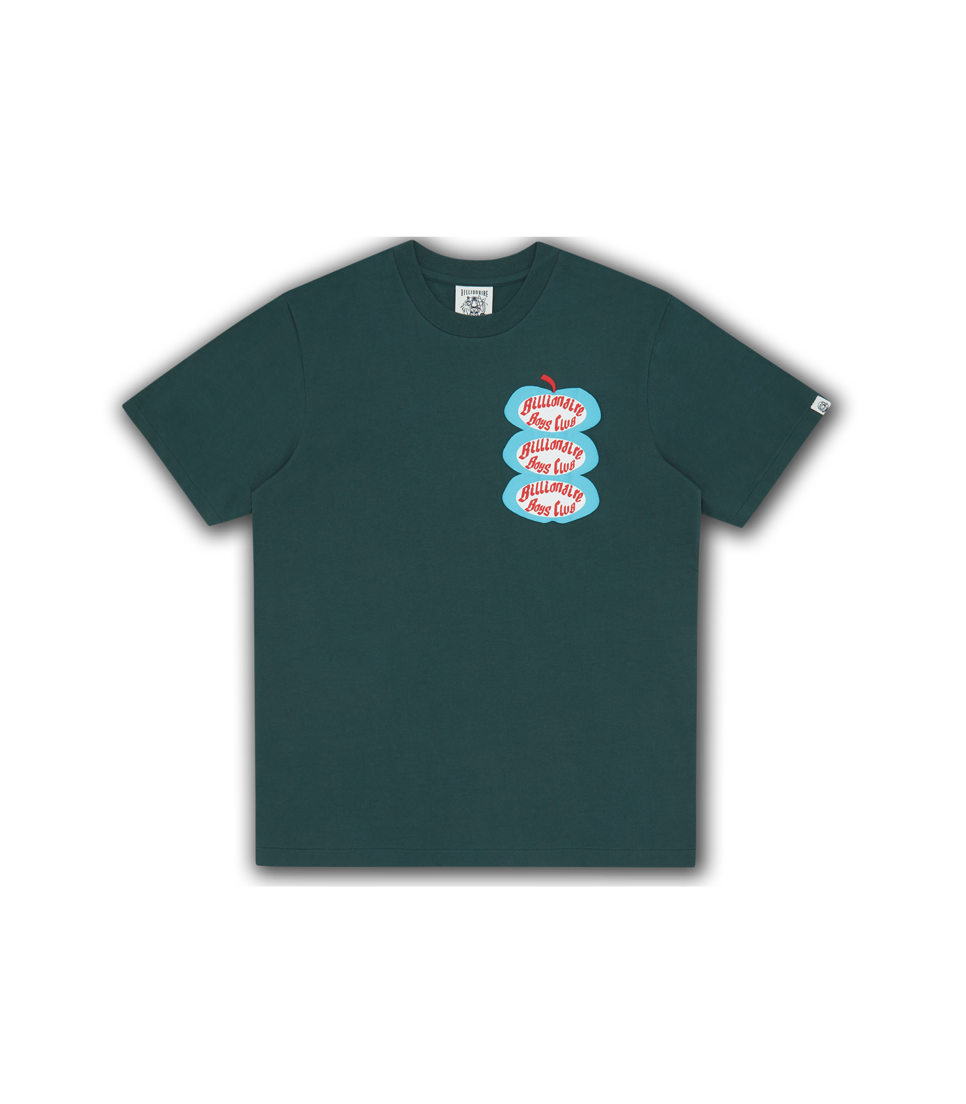 APPLE T-SHIRT - GREEN