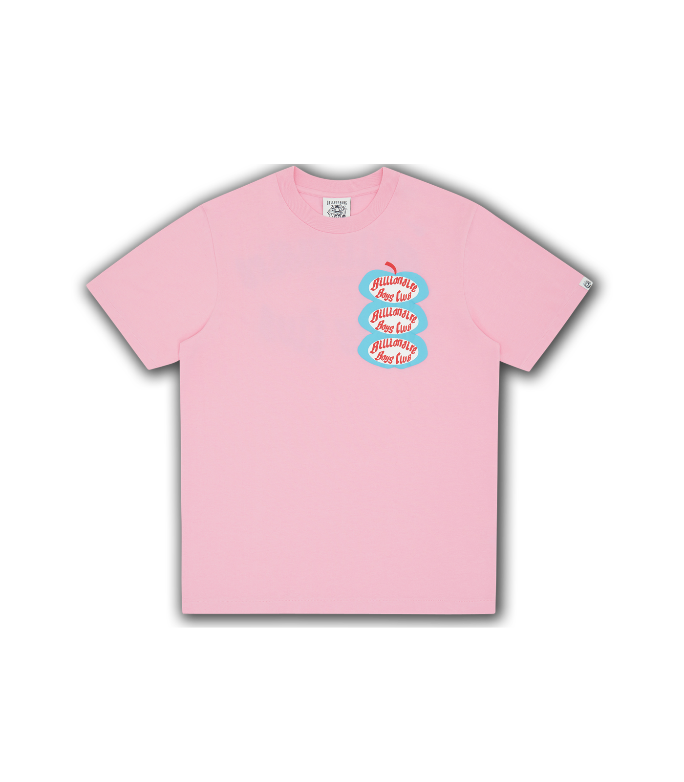 APPLE T-SHIRT - PINK