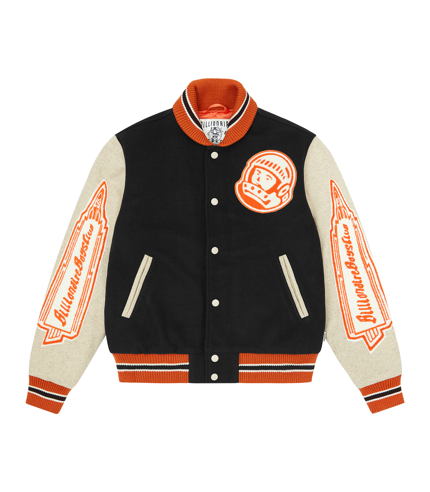 ASTRO VARSITY JACKET - BROWN