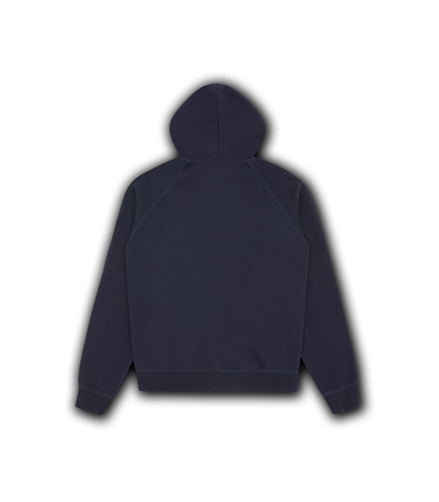 RUBBER PATCH ZIP THROUGH HOOD - NAVY