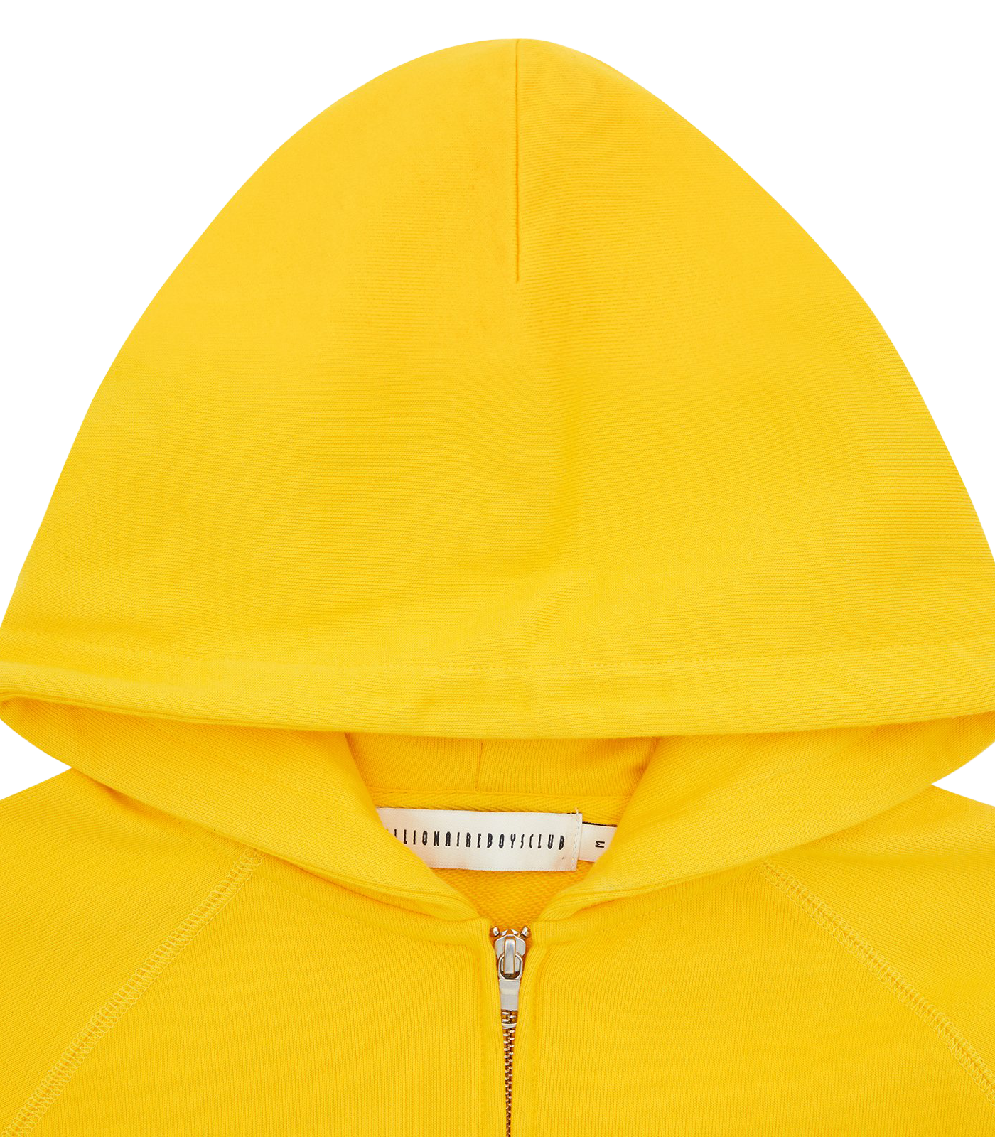 RUBBER PATCH ZIP THROUGH HOOD - YELLOW