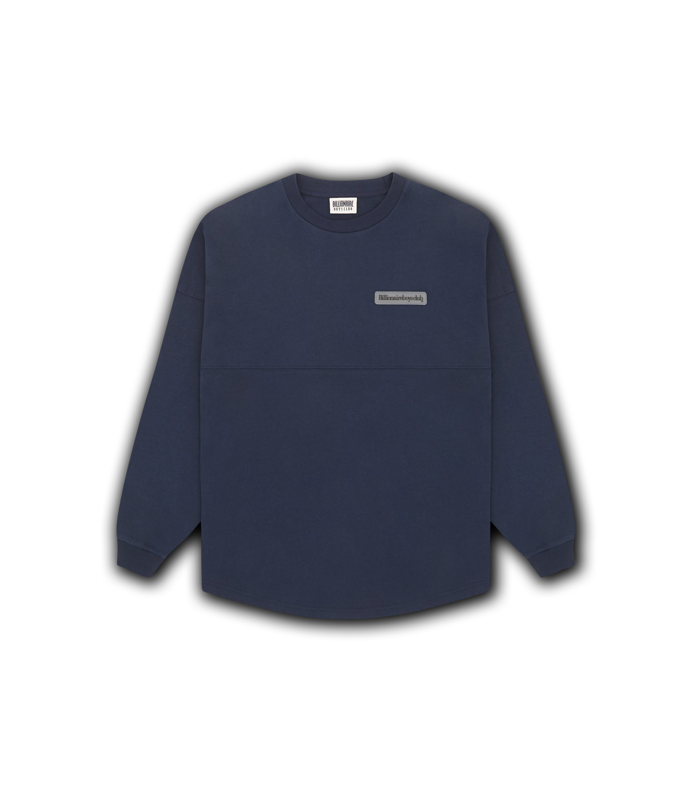 RUBBER PATCH L/S T-SHIRT - NAVY