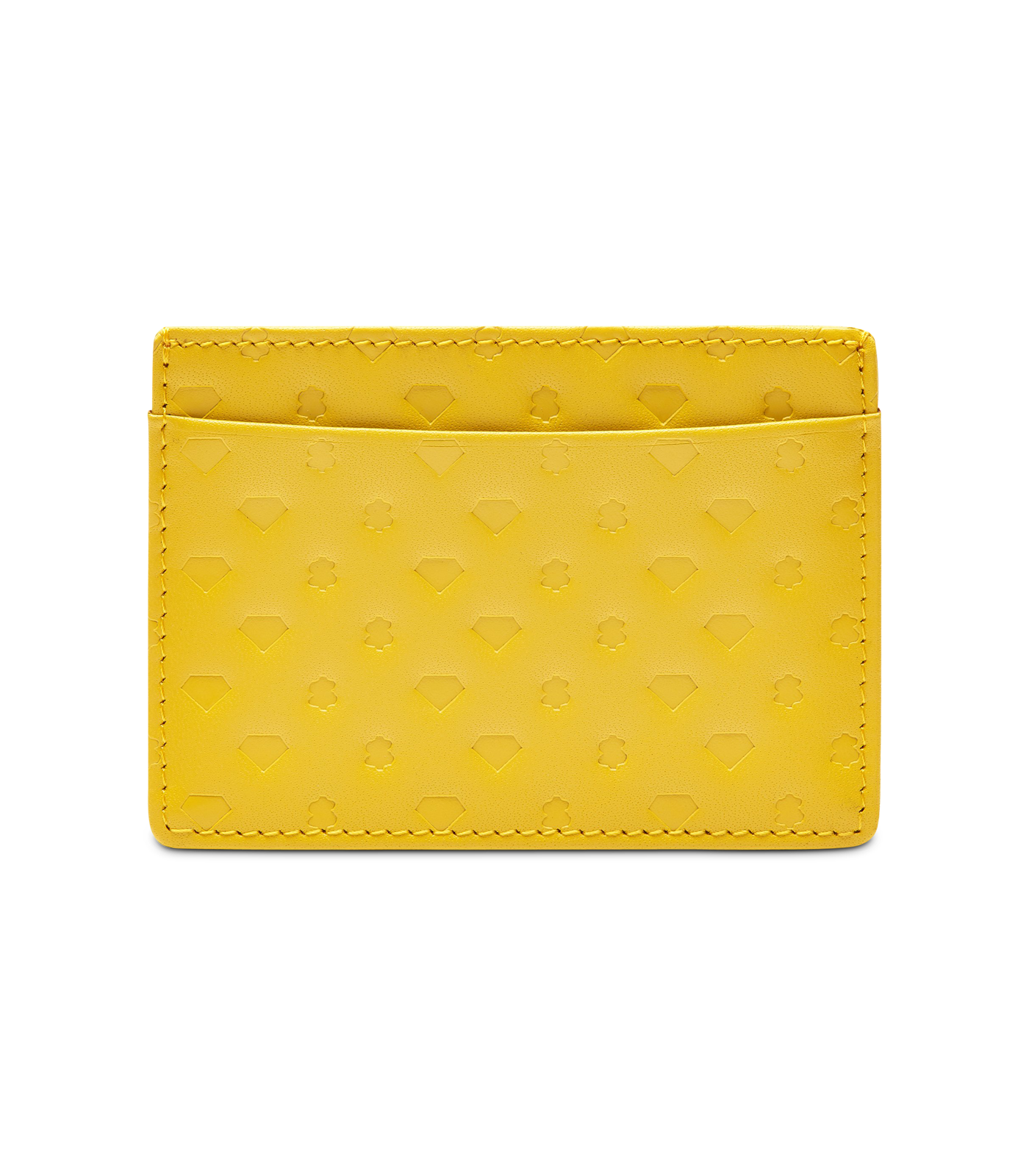 DIAMONDS AND DOLLARS LEATHER CARDHOLDER