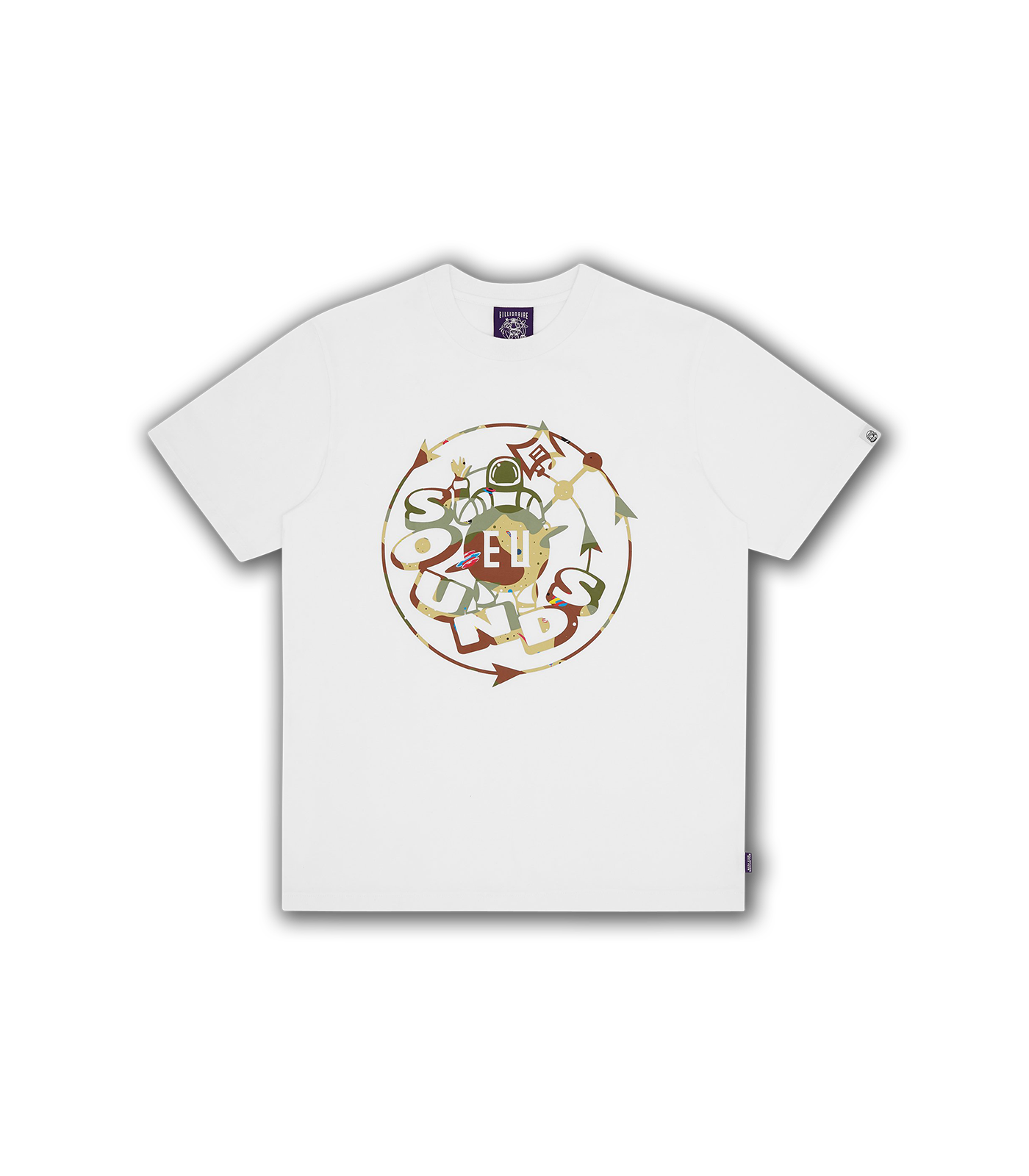 EU SOUNDS T-SHIRT - WHITE