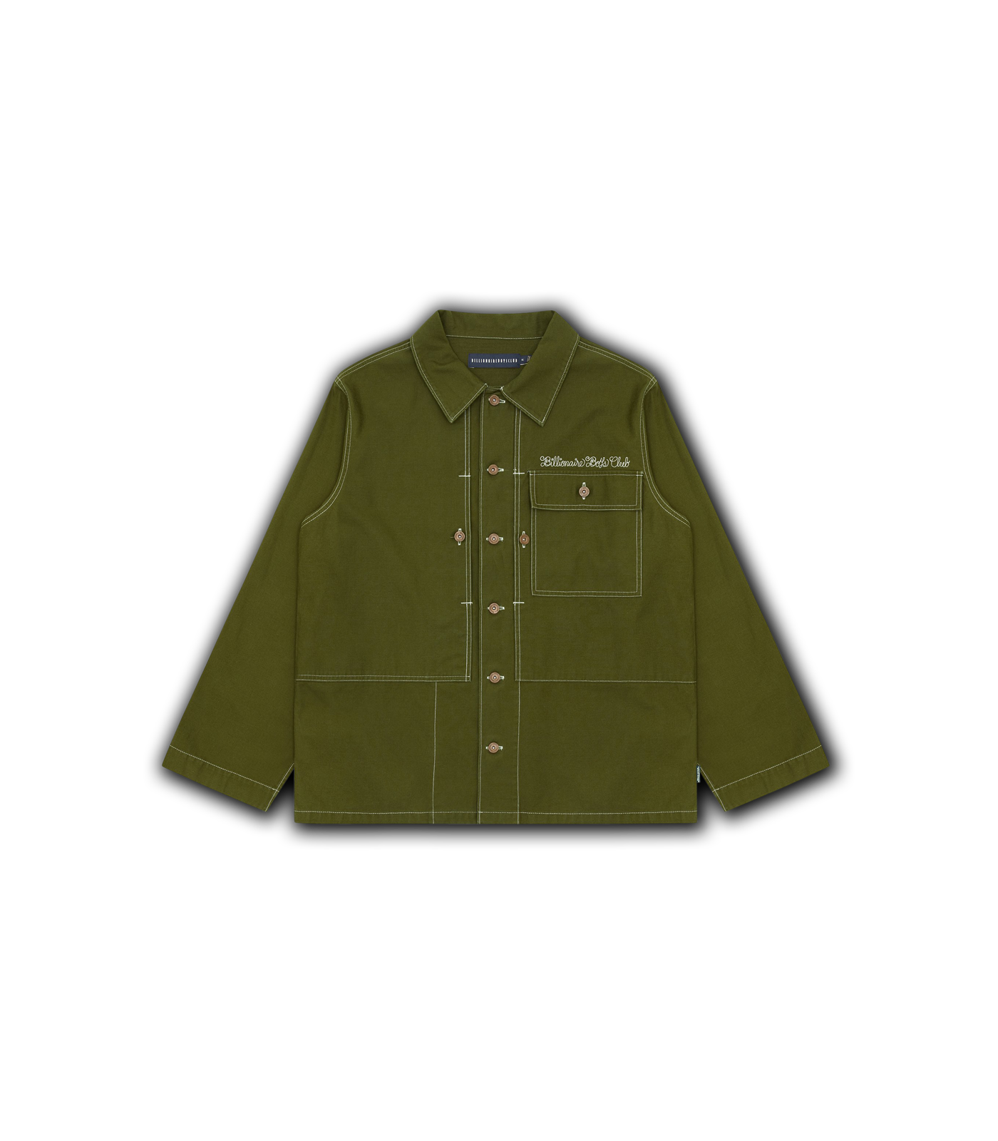 HEART & MIND UTILITY SHIRT - OLIVE