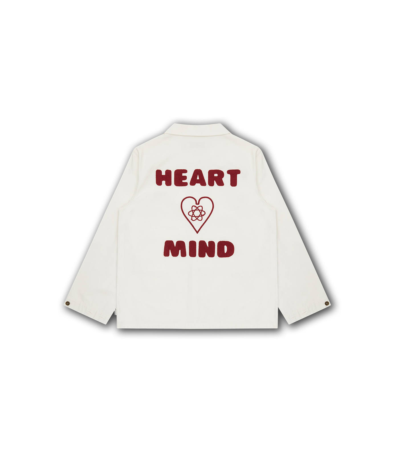 HEART & MIND UTILITY SHIRT - WHITE