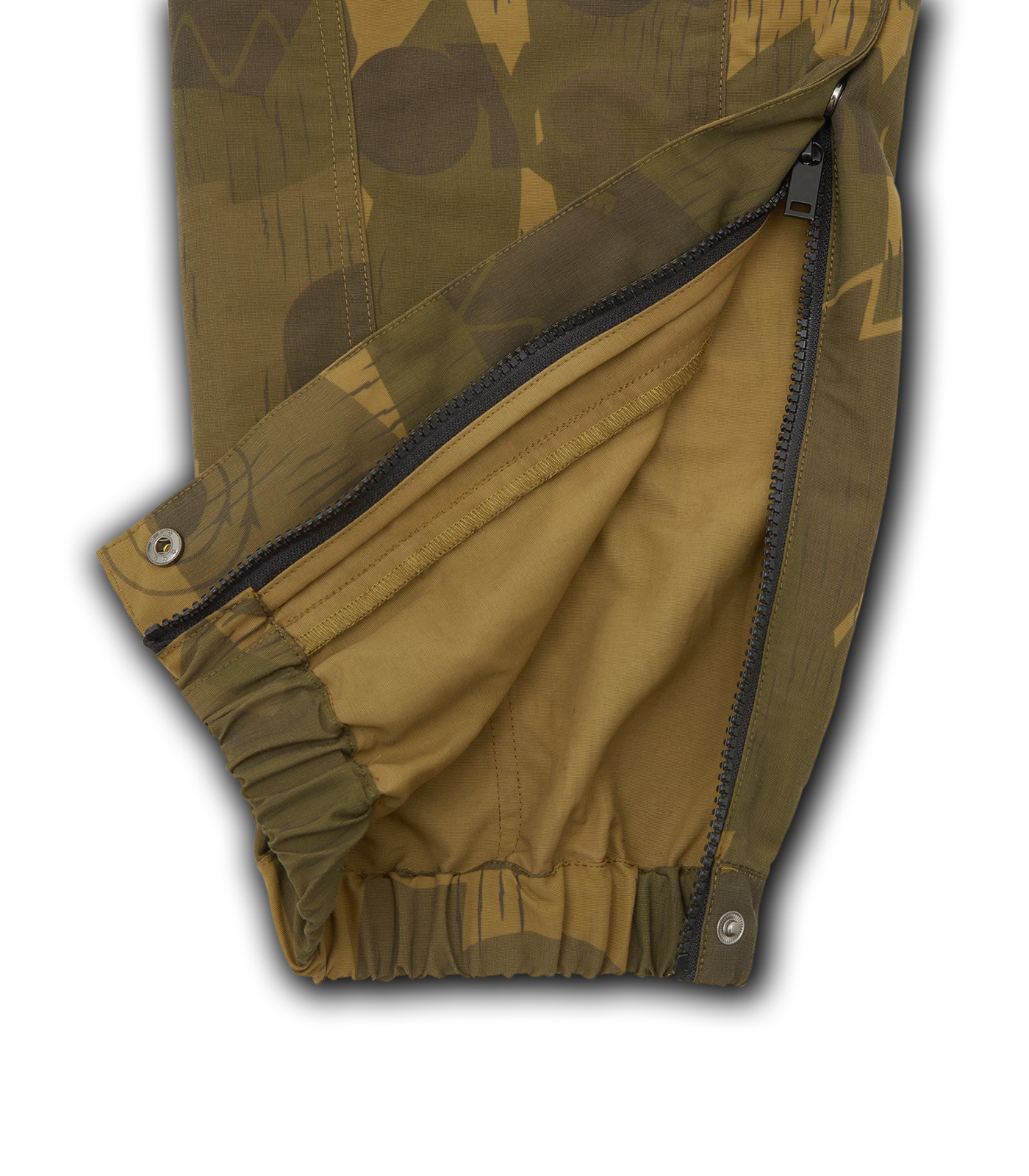 MILITARY TRACK PANT - GREEN CAMO