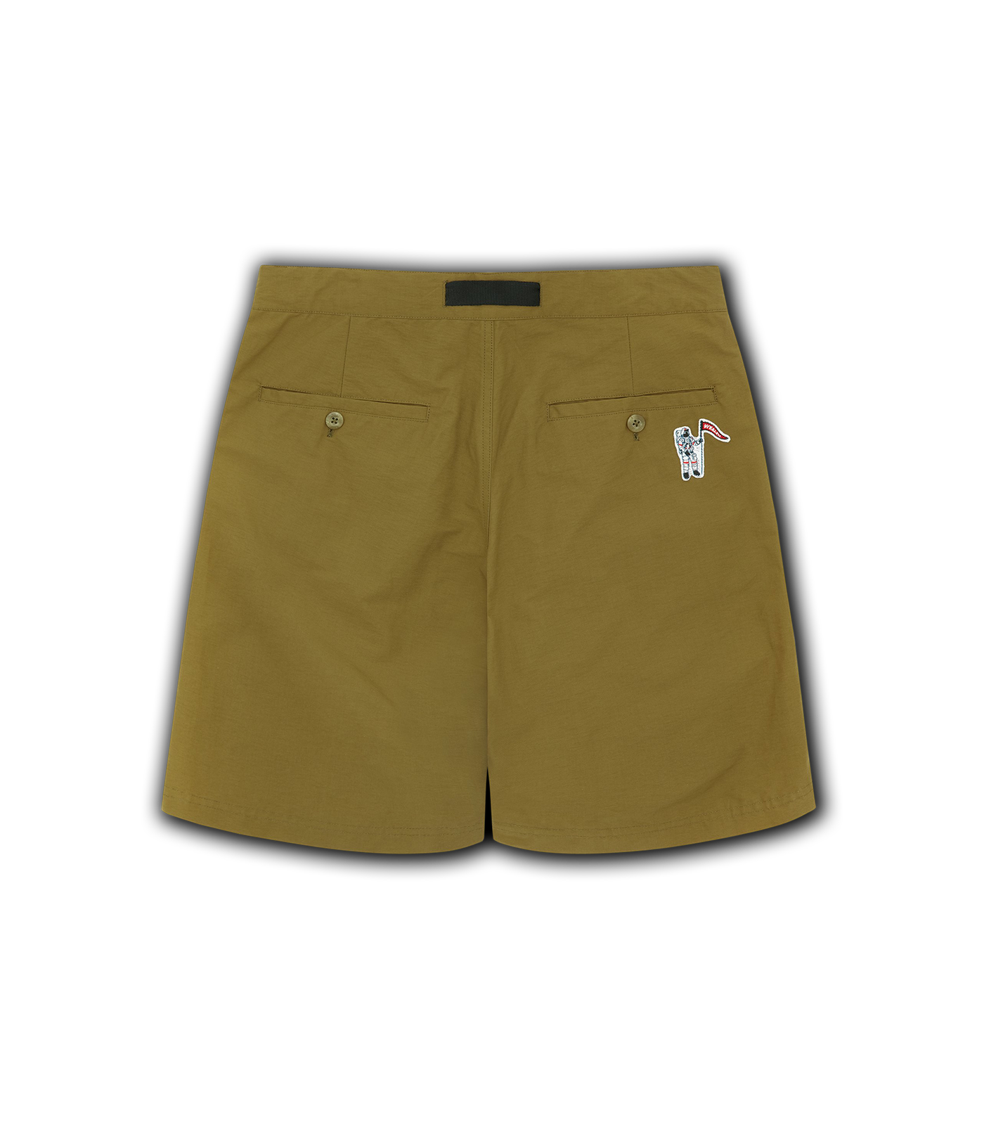 ZIP POCKET SHORTS - BEIGE