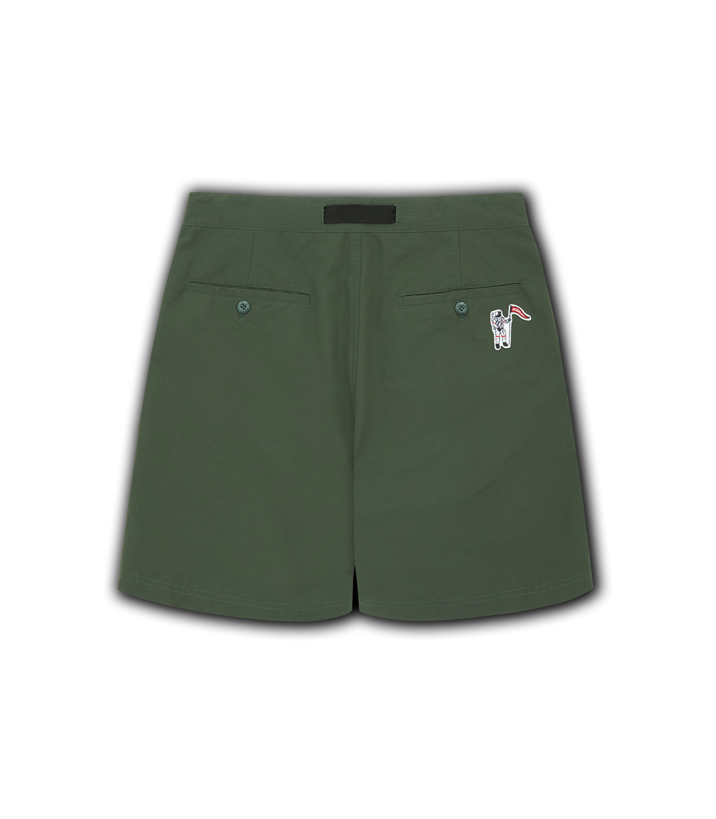 ZIP POCKET SHORTS - GREEN