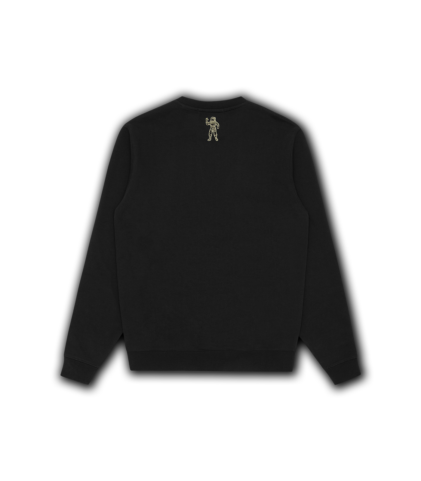 STRAIGHT LOGO CREWNECK - BLACK