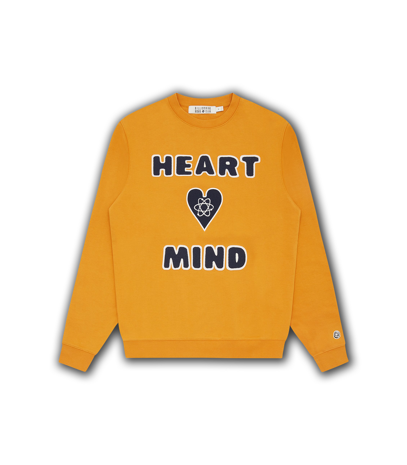 HEART & MIND CREWNECK - YELLOW