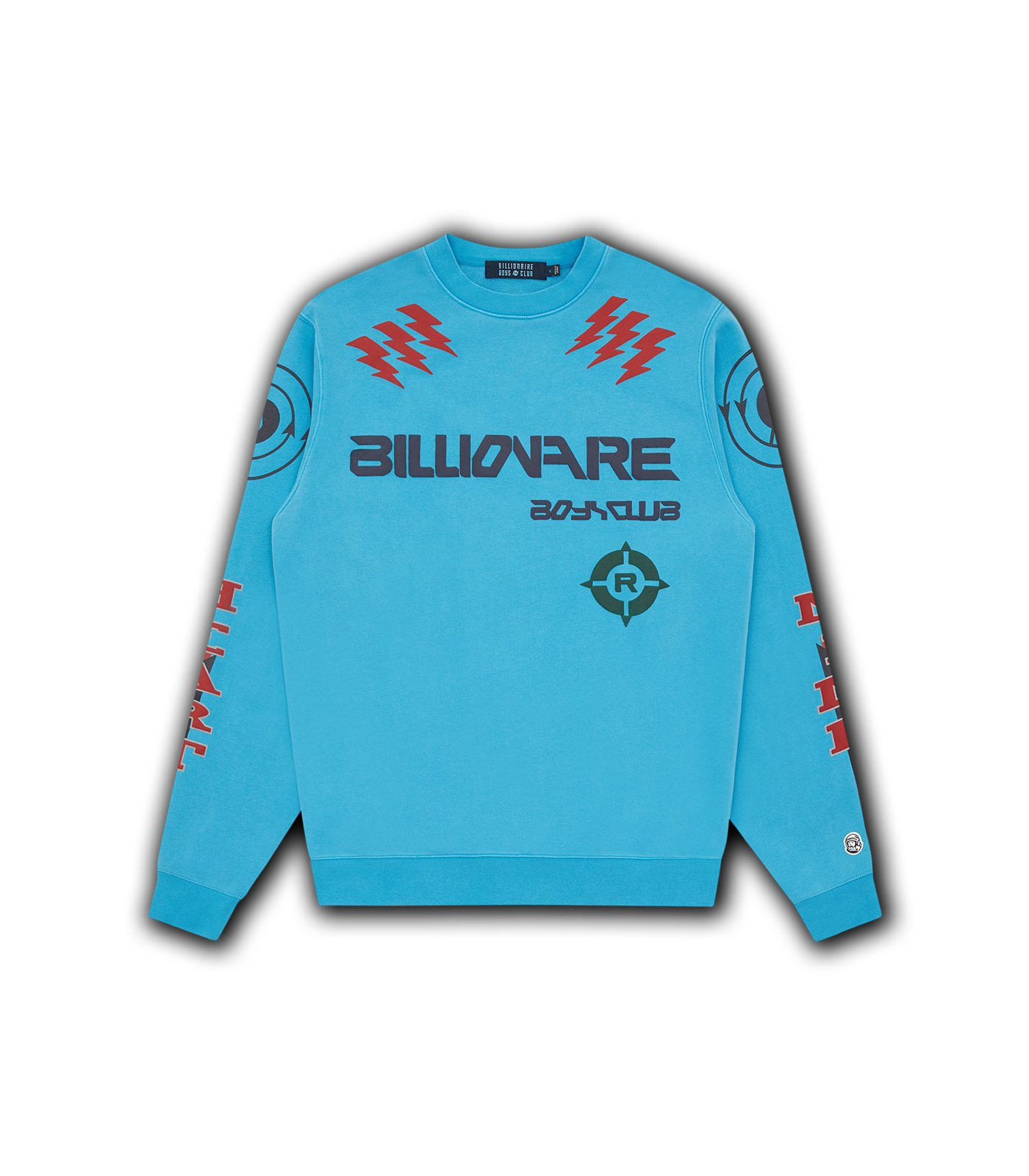 CODE GRAPHIC CREWNECK - AQUA