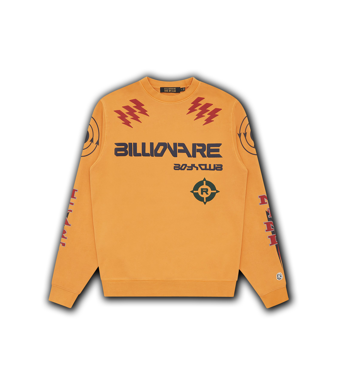 CODE GRAPHIC CREWNECK - AMBER