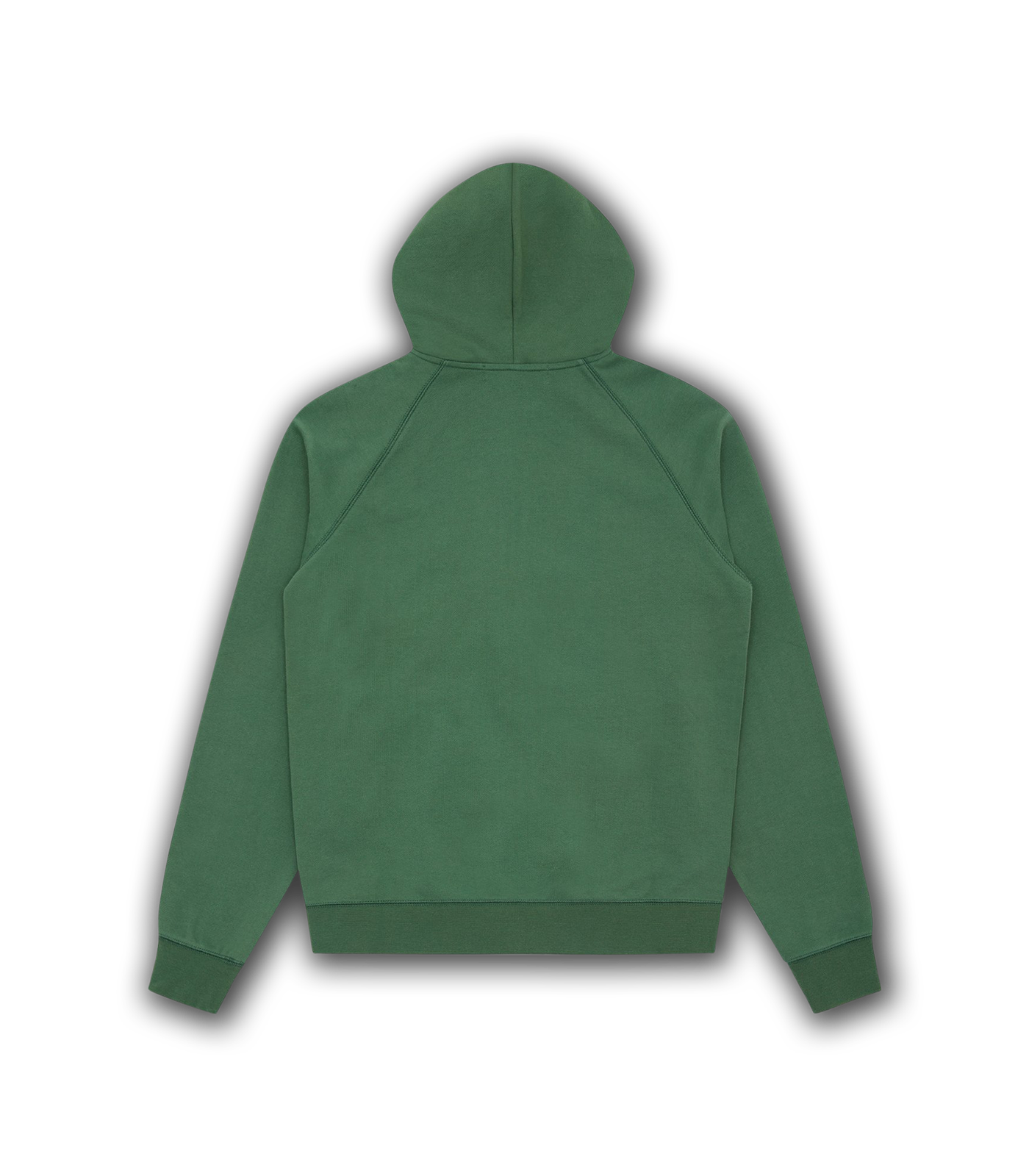 RUBBER PATCH ZIP THROUGH HOOD - OLIVE