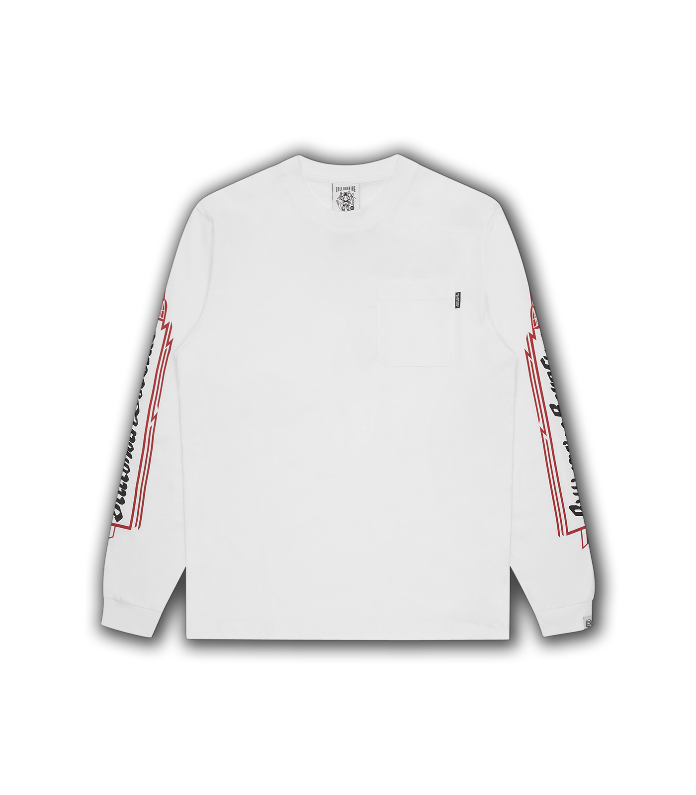 HEART & MIND L/S T-SHIRT - WHITE