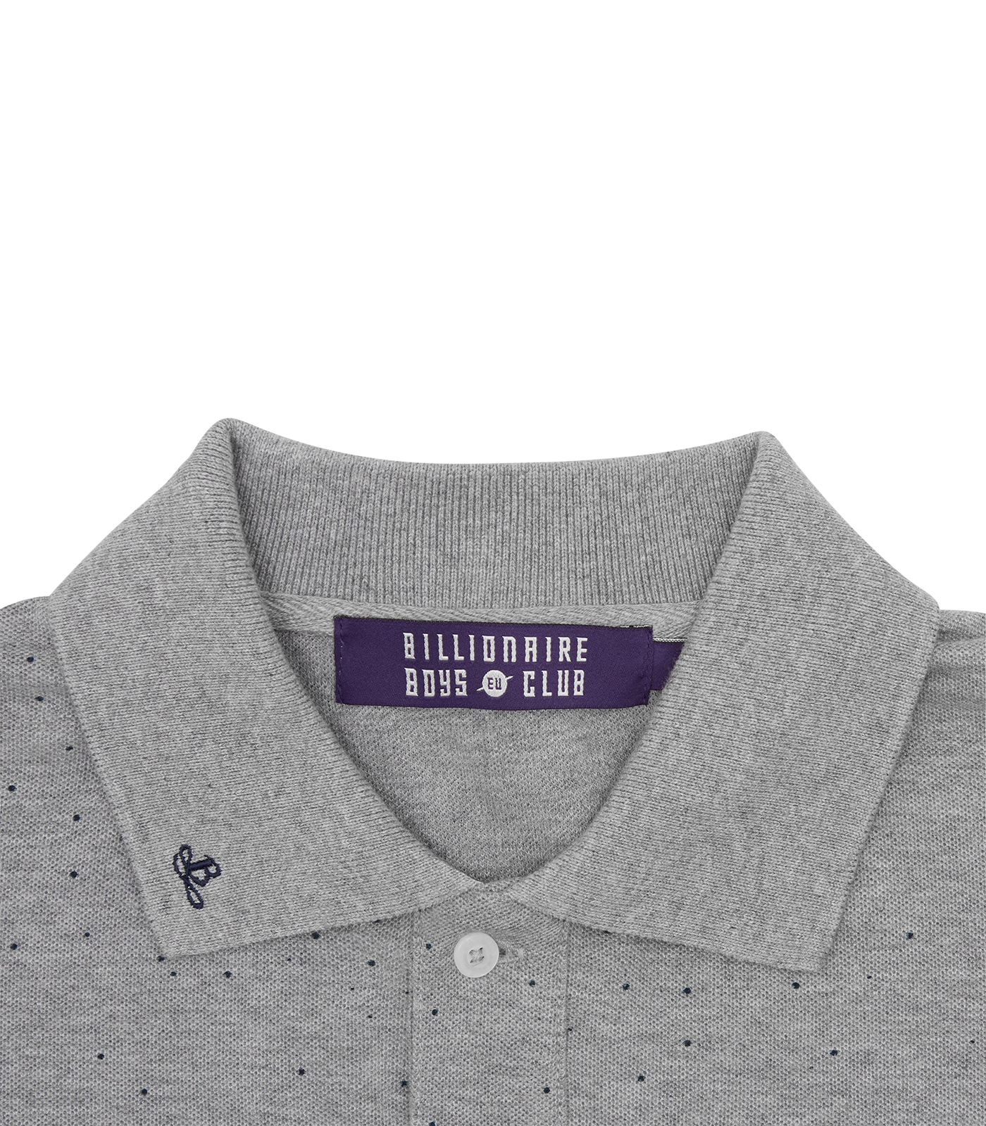 DEEP SPACE PIQUE POLO SHIRT - GREY
