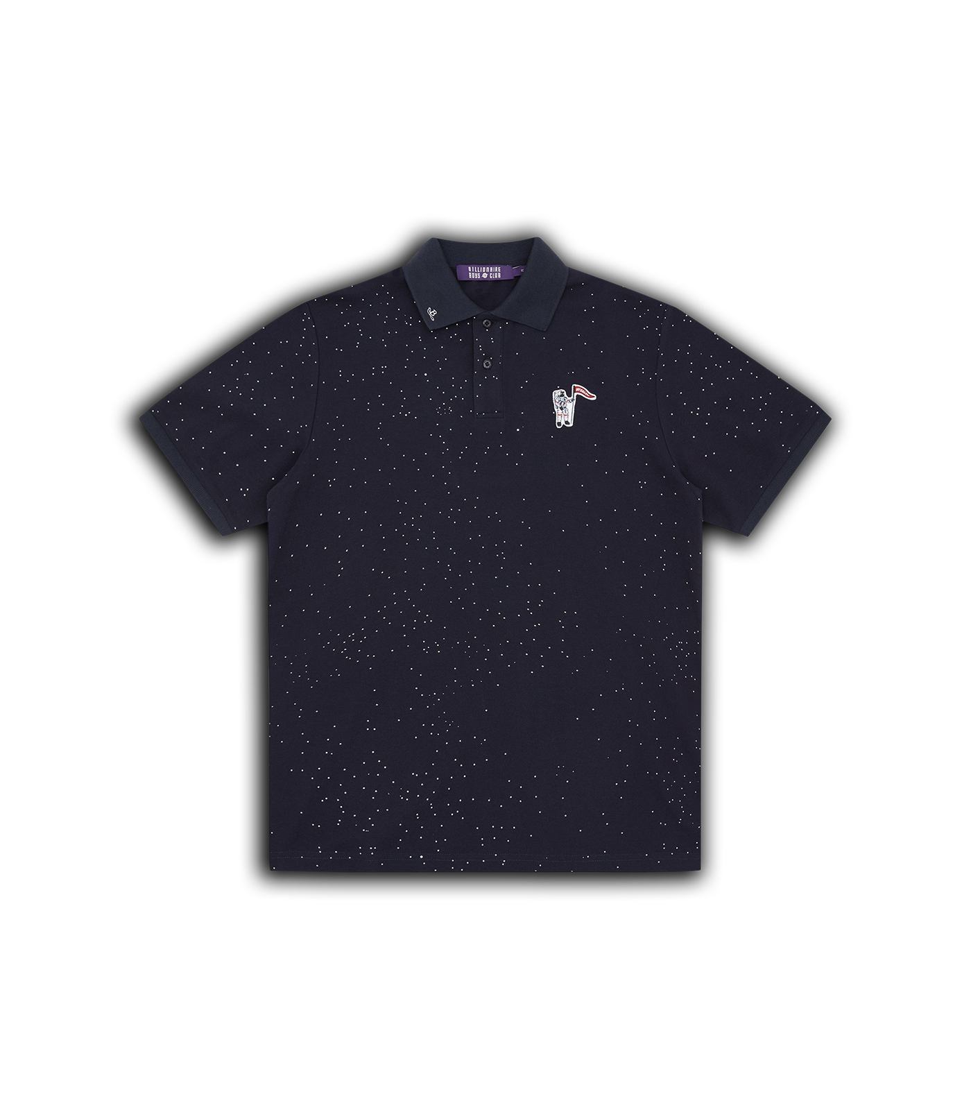 DEEP SPACE PIQUE POLO SHIRT - NAVY