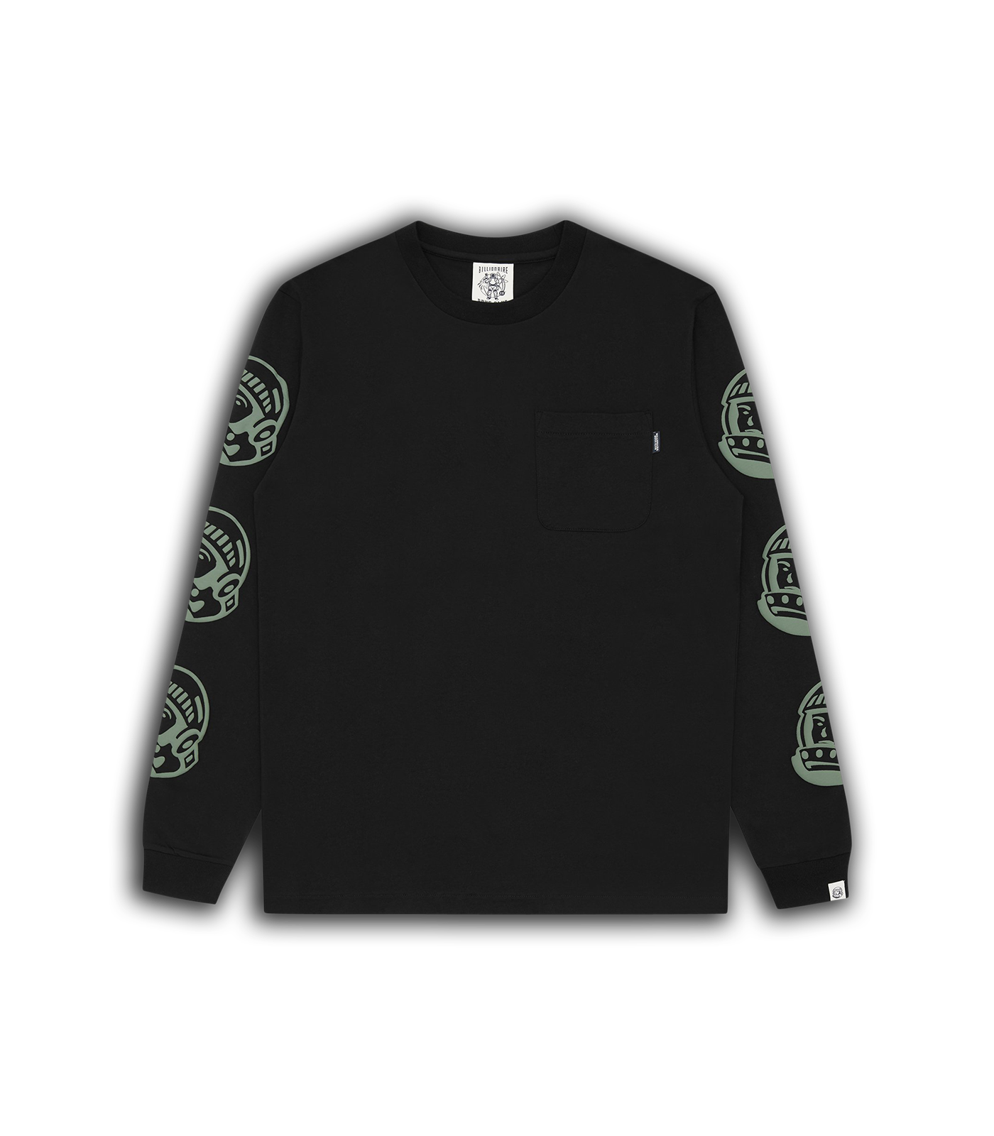 ASTRO REPEAT L/S T-SHIRT - BLACK