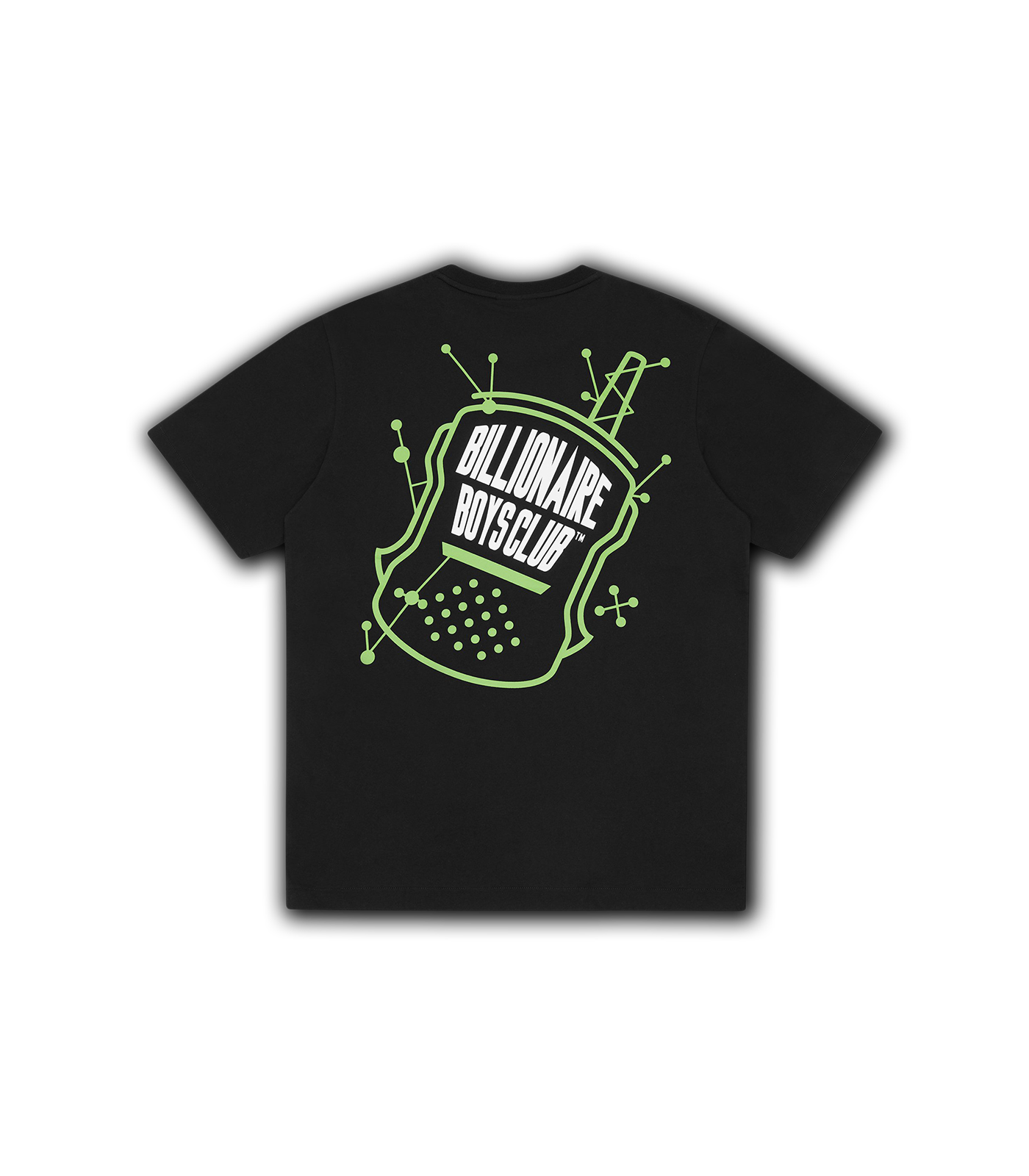 RADIO GRAPHIC T-SHIRT - BLACK