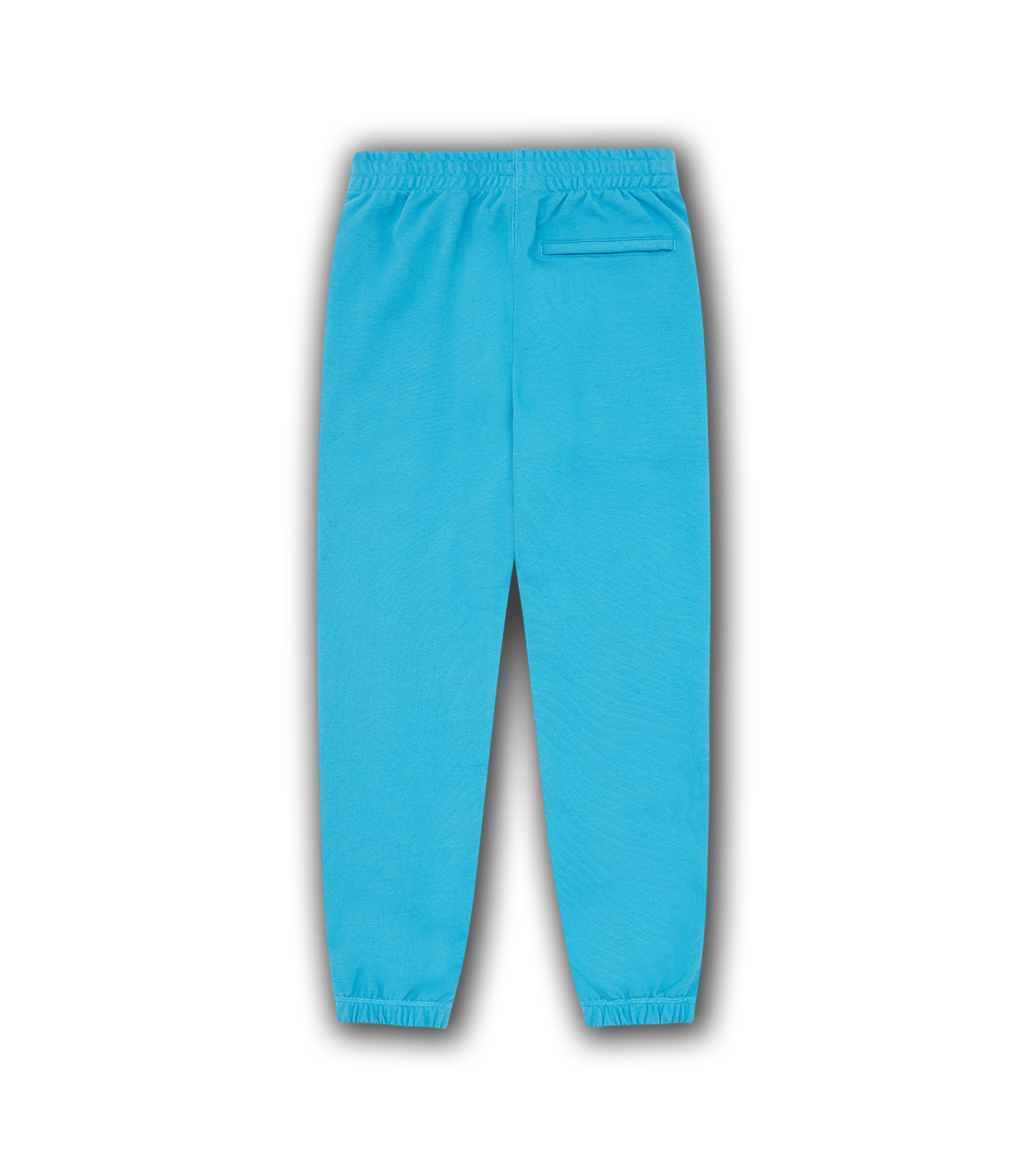 RUBBER PATCH SWEATPANTS - AQUA