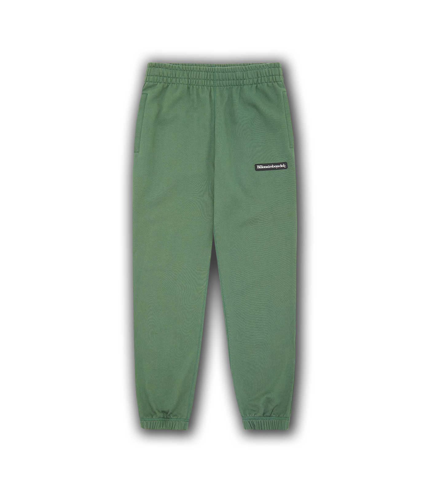 RUBBER PATCH SWEATPANTS - OLIVE