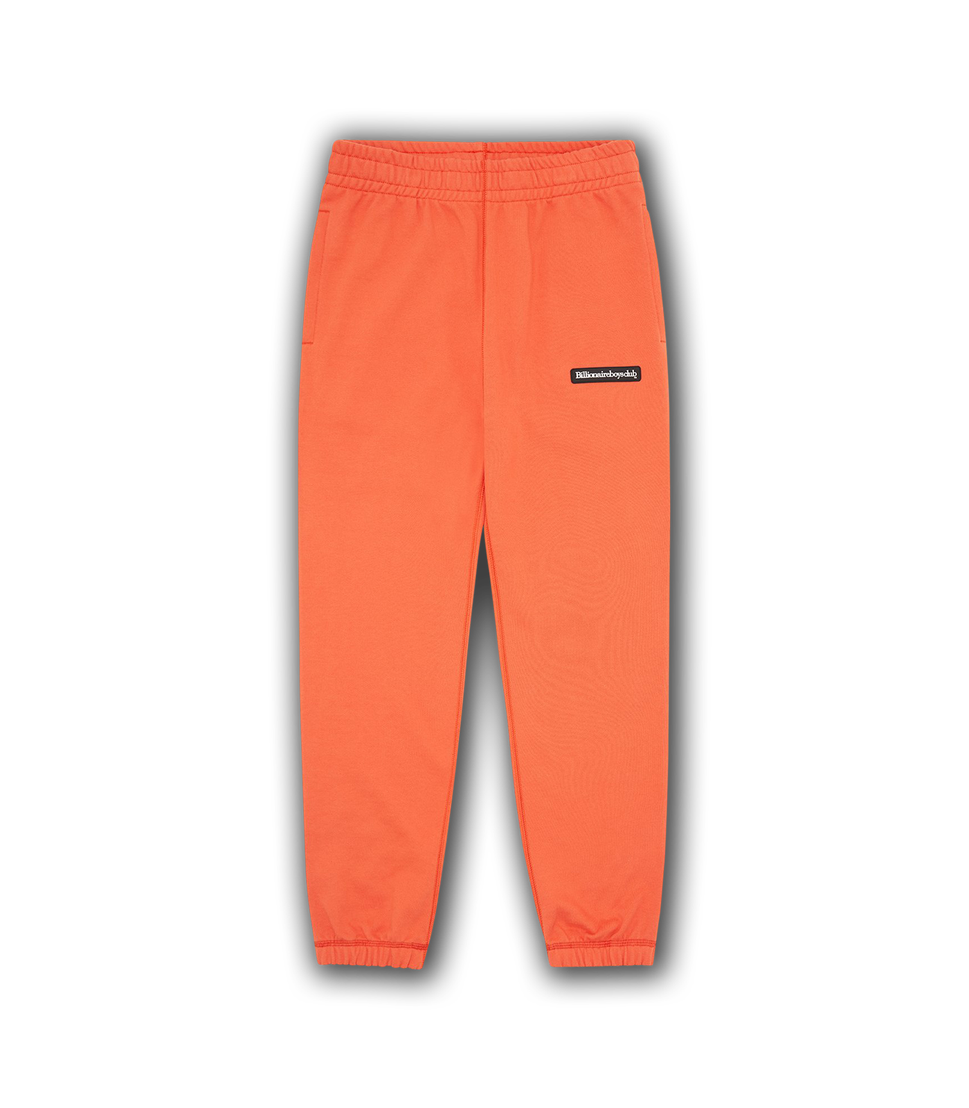 RUBBER PATCH SWEATPANTS - ORANGE