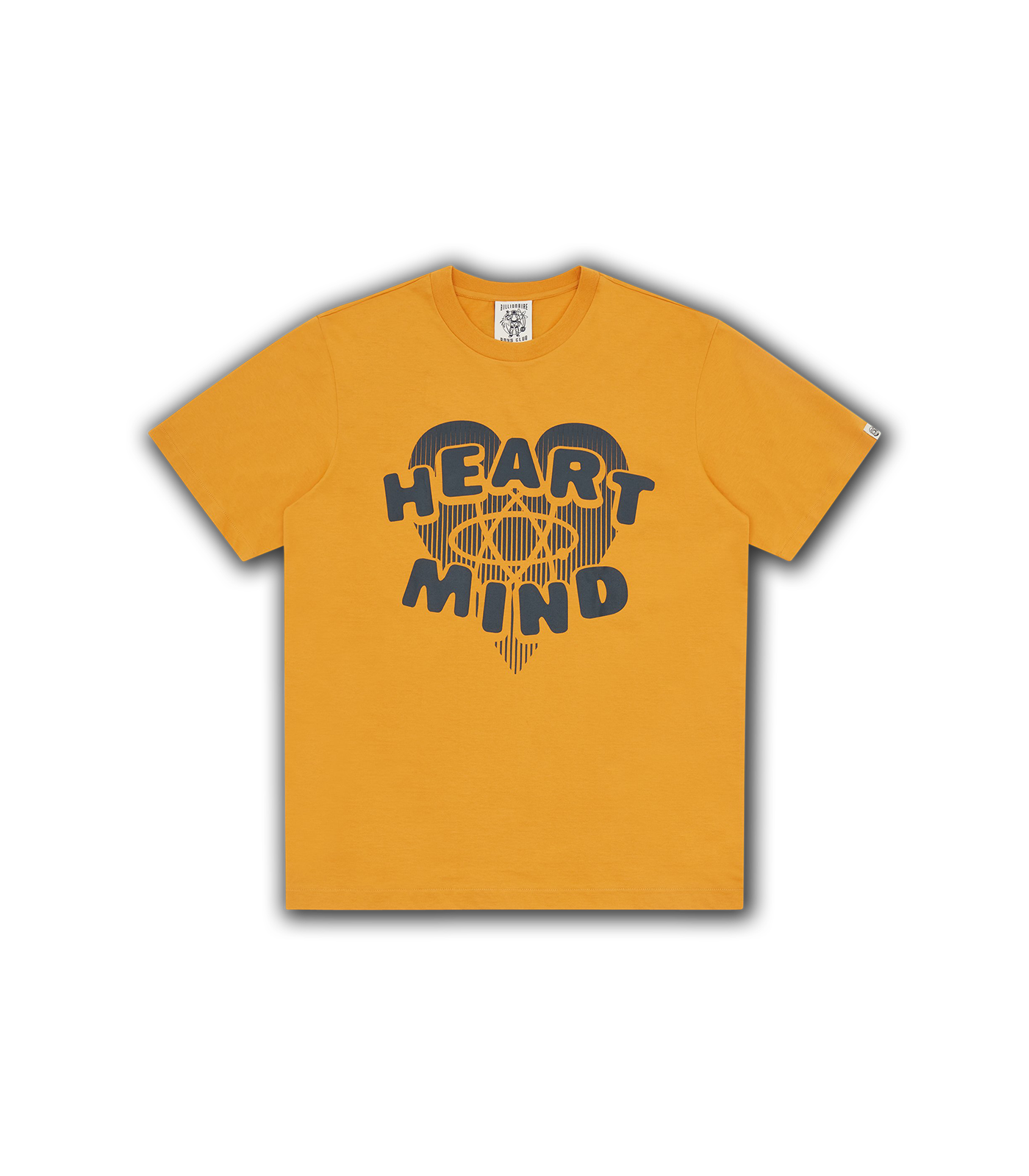 HEART & MIND GRAPHIC T-SHIRT - YELLOW